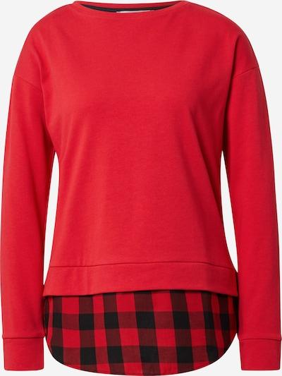 EDC BY ESPRIT Shirt in rot / schwarz, Produktansicht