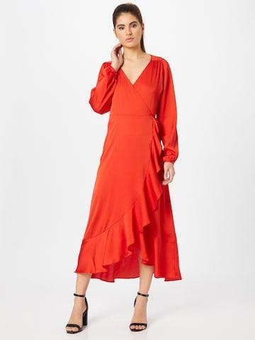 SOAKED IN LUXURY Μπλουζοφόρεμα 'Karven' σε πορτοκαλί