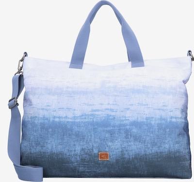 CAMEL ACTIVE Shopper 'Fargo' in blau / braun / weiß, Produktansicht