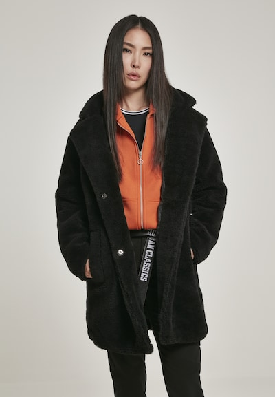 Palton de primăvară-toamnă Urban Classics pe negru, Vizualizare model