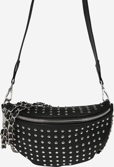 STEVE MADDEN Tasche 'BRAIDER' in schwarz / silber, Produktansicht