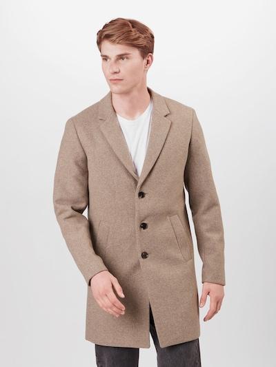 greige JACK & JONES Átmeneti kabátok, Modell nézet