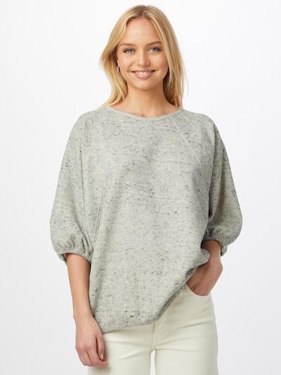 AMERICAN VINTAGE Sweatshirt 'Zupy' in mottled grey: Frontal view