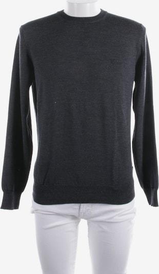HUGO BOSS Pullover / Strickjacke in L in dunkelgrau, Produktansicht