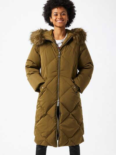 GUESS Winter coat in green, View model