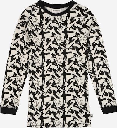 JACKY Onderhemd in de kleur Zwart / Wit, Productweergave