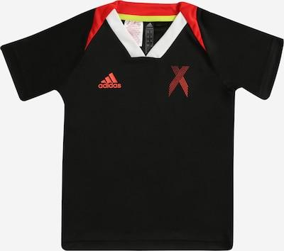 Sportiniai marškinėliai iš ADIDAS PERFORMANCE, spalva – raudona / juoda, Prekių apžvalga