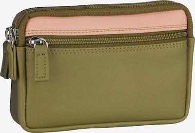 mywalit Schlüsseletui in khaki / dunkelgrün / hellpink, Produktansicht