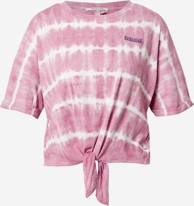 Q/S by s.Oliver T-Shirt in brombeer / pink / weiß, Produktansicht