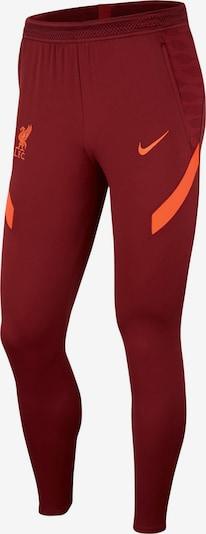 NIKE Sporthose in neonorange / blutrot, Produktansicht