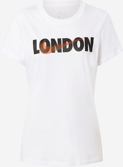 Nike Sportswear T-Shirt in orange / schwarz / weiß, Produktansicht