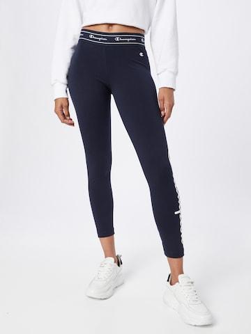 Champion Authentic Athletic Apparel Leggings - kék