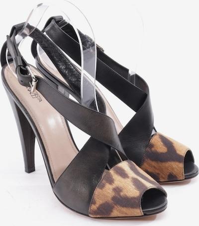 Giambattista Valli Sandaletten in 40,5 in braun / schwarz, Produktansicht