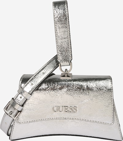GUESS Τσάντα ώμου 'Devin' σε ασημί, Άποψη προϊόντος