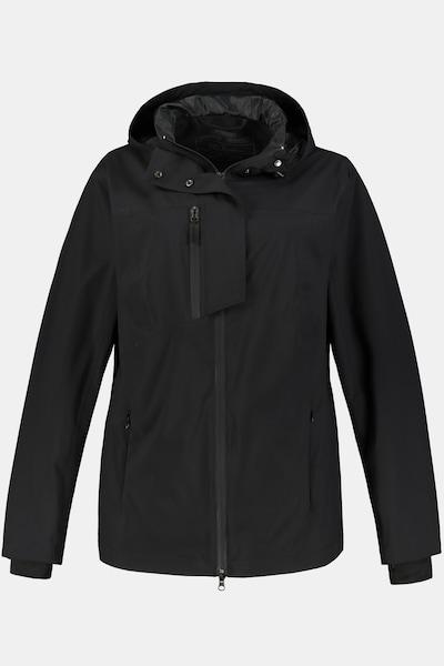 Ulla Popken Regenjacke in schwarz, Produktansicht