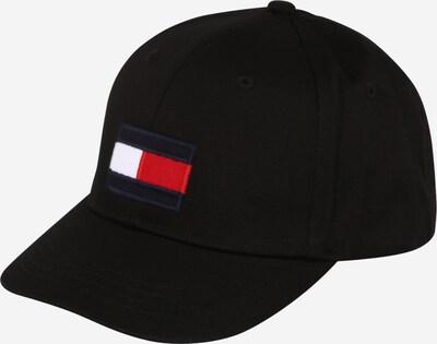 TOMMY HILFIGER Шапка с козирка в червено / черно / бяло, Преглед на продукта