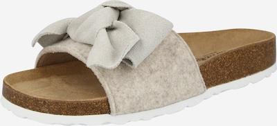 krém / világosszürke SHEPHERD OF SWEDEN Házi cipő 'Silvia', Termék nézet