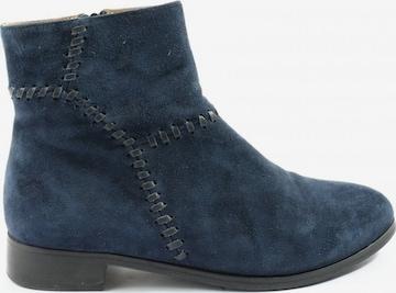 Di Lauro Reißverschluss-Stiefeletten in 38 in Blau