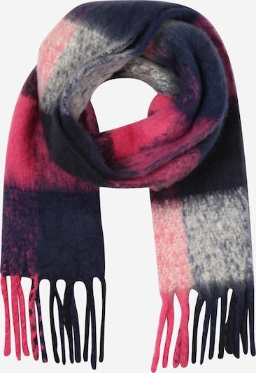 ONLY Sjaal 'NICKY' in de kleur Navy / Pink / Wolwit, Productweergave