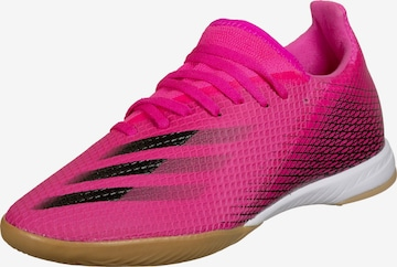 ADIDAS PERFORMANCE Fußballschuh 'X Ghosted.3 IN' in Pink
