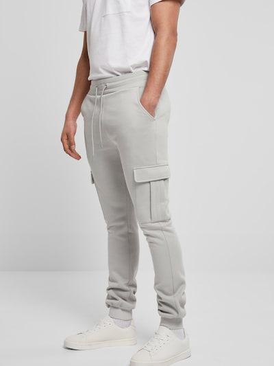 Urban Classics Hose in grau, Modelansicht