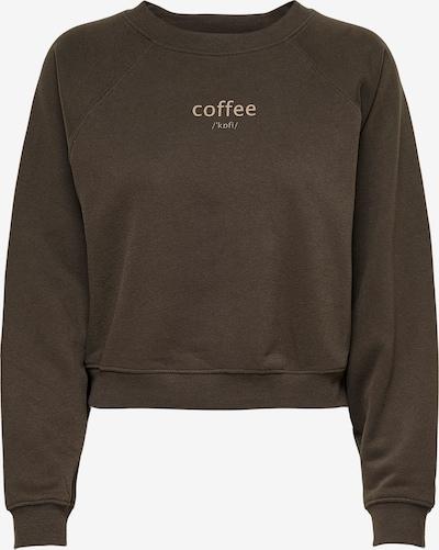 ONLY Sweatshirt 'Bella' in de kleur Bruin, Productweergave
