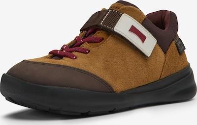 CAMPER Sneaker 'Ergo' in braun / cognac / rot / weiß, Produktansicht