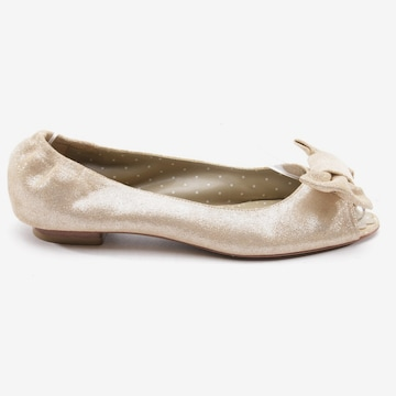 MOSCHINO Flats & Loafers in 37 in Silver