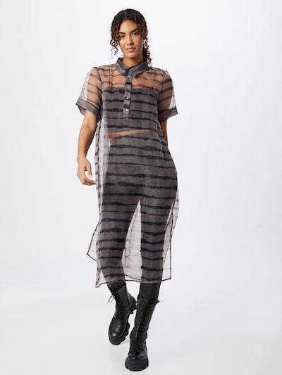 Rochie JUST FEMALE pe maro / grej, Vizualizare model