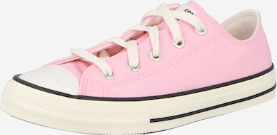 CONVERSE Baskets 'CTAS' en rose / noir / blanc, Vue avec produit