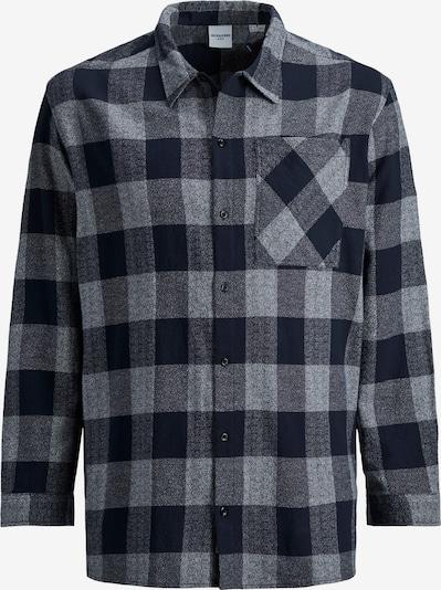 Jack & Jones Plus Krekls 'Will' tumši zils / tumši dzeltens / raibi pelēks, Preces skats
