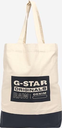 G-Star RAW Shopper in ecru / navy, Produktansicht
