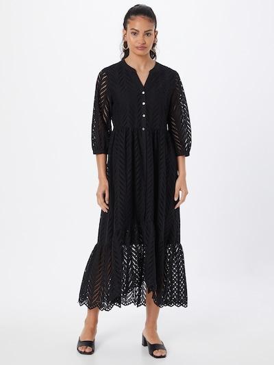 s.Oliver BLACK LABEL Košilové šaty - černá, Model/ka