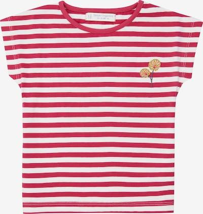Sense Organics T-Shirt 'DORA' in gelb / rot / weiß, Produktansicht