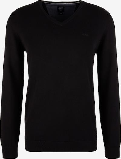 s.Oliver Jersey en negro, Vista del producto