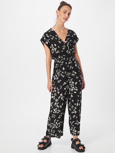 NEW LOOK Jumpsuit 'DANIELLE' in de kleur Donkergeel / Zwart / Wit, Modelweergave