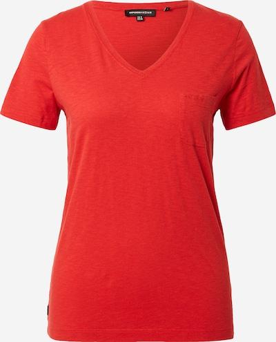 Superdry T-Shirt in rotmeliert, Produktansicht