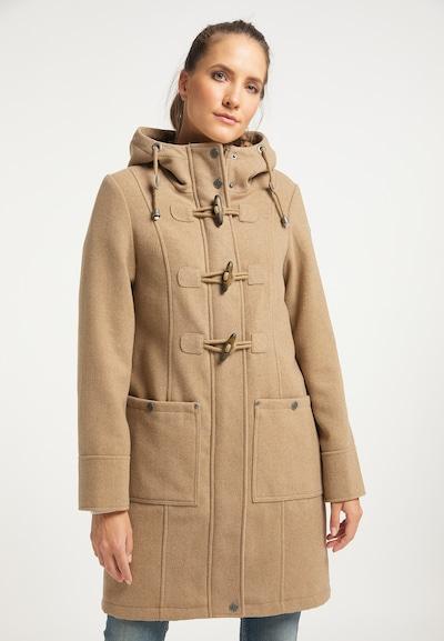 Palton de primăvară-toamnă DreiMaster Vintage pe bej, Vizualizare model