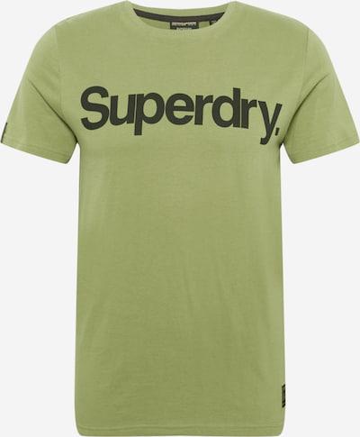 Superdry T-Krekls 'MILITARY' ābolu / melns, Preces skats