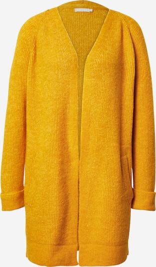 PIECES Strickjacke 'Ellen' in gelb, Produktansicht