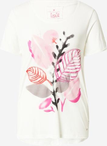 LIEBLINGSSTÜCK Shirt 'Candy' in Weiß