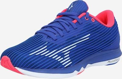 MIZUNO Sportschuh in blau / pink / weiß, Produktansicht