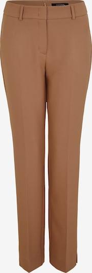 COMMA Pantalon à plis en marron, Vue avec produit
