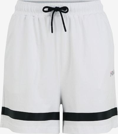 FILA Shorts WOMEN 'JAKA' high waist in weiß, Produktansicht