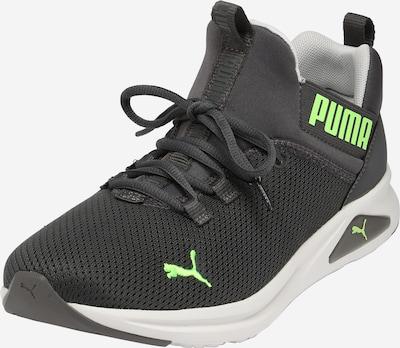 PUMA Chaussure de sport 'Enzo 2 Uncaged' en gris foncé / citron vert, Vue avec produit