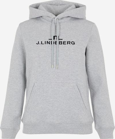 J.Lindeberg Sweatshirt 'Alpha' in hellgrau / schwarz, Produktansicht