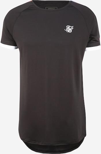SikSilk Tričko - modrá / žlutá / tmavě fialová / černá / bílá, Produkt