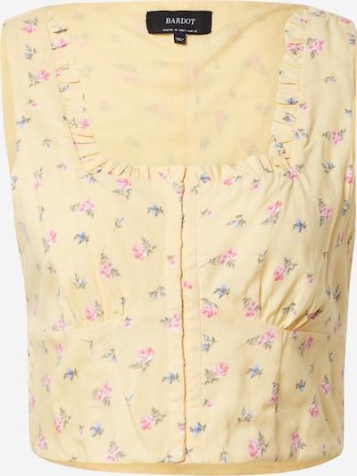 Bardot Top u žuta / miks boja, Pregled proizvoda