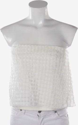 Tibi Top / Seidentop in XL in offwhite, Produktansicht
