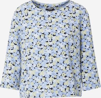 OPUS Bluse in opal / hellblau / pastellgelb / schwarz / weiß, Produktansicht